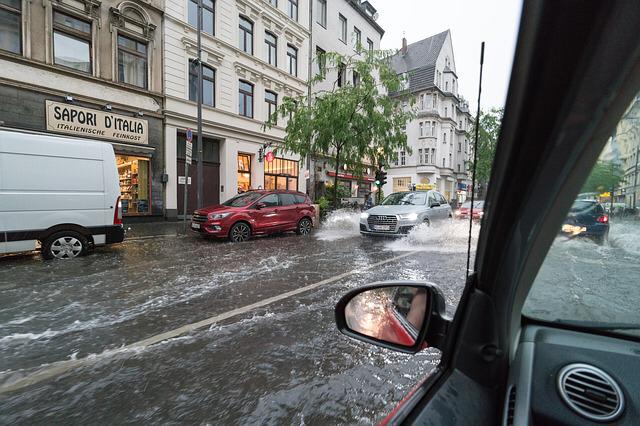 Schutz vor Überschwemmungsschäden